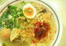 De stijl dichte omhooggaand van het Jubbui Thaise en Vietnamese voedsel Stock Foto's