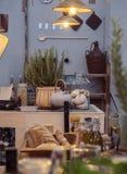 De stijl en het huisvoorwerpen van het land Royalty-vrije Stock Fotografie