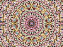 De Stijl Mandala van Universum Royalty-vrije Stock Foto