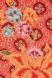 De stijl originele textiel van Thailand Stock Foto