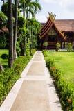 De stijl van cellanna in Wat Sri Don Moon, Chiangmai Thailand Stock Foto
