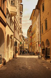De Stijl van de Straten van Florence stock afbeelding