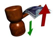 De stijl van de veiling Stock Afbeelding