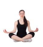 De stijl van de yoga Royalty-vrije Stock Foto