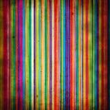 De stijl van Grunge: geschilderde lijnen met vlekken Royalty-vrije Stock Afbeelding