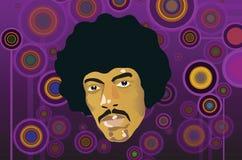 De stijl van Hendrix vector illustratie