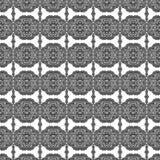 De stijl van het kant bloemen herhaalt naadloos patroon Royalty-vrije Stock Afbeeldingen