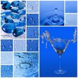 De stijl van het water royalty-vrije stock afbeeldingen