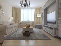 De stijl van het woonkamerland Royalty-vrije Stock Fotografie