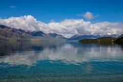 De Stijl van Lakeviewnieuw zeeland stock fotografie