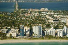 De stad van Miami  Stock Foto