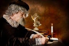 De stijl van Rembrand Stock Afbeeldingen