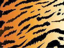 De stijlachtergrond van de tijger royalty-vrije illustratie