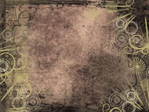 De stijlachtergrond van Grunge stock illustratie