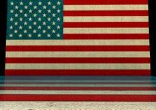 De stijlachtergrond van de V.S. vector illustratie
