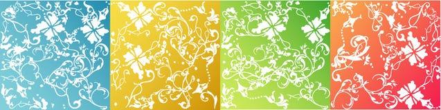 De stijlachtergronden van vectoren Stock Afbeelding