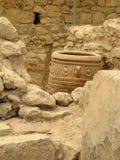 De stijlamfora van Minoan stock foto