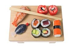 De Stijlen van sushi stock afbeelding