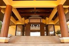 De stijlhuis van Bali. Royalty-vrije Stock Foto