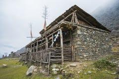 De stijlhuis van Tibet Royalty-vrije Stock Afbeelding