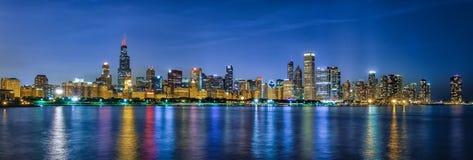 De Stijlkegels van Chicago stock afbeelding
