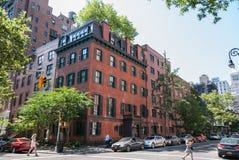 De stille buurt van New York Royalty-vrije Stock Afbeeldingen