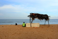 De stille Oceaan van India Stock Foto's
