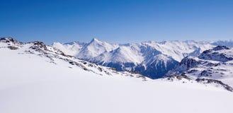 De stilte van de berg stock foto