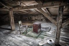 De stoel Stock Foto's