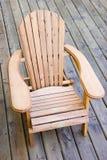 De stoel van Adirondack Stock Fotografie