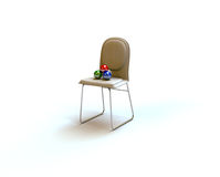 De stoel van ballen stock illustratie