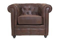 De stoel van Chesterfield Royalty-vrije Stock Foto