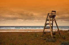 De stoel van de badmeester Royalty-vrije Stock Fotografie