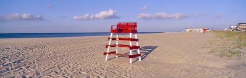 De stoel van de badmeester Stock Foto