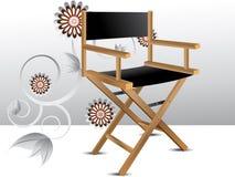 De stoel van de directeur stock illustratie