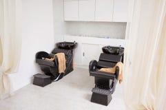 De stoel van de kapper Royalty-vrije Stock Afbeeldingen