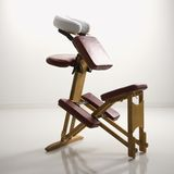 De stoel van de massage. Stock Fotografie