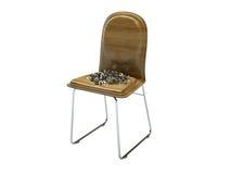 De stoel van de speld stock illustratie