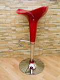 De stoel van de staaf Royalty-vrije Stock Foto's