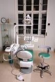 De stoel van de tandarts royalty-vrije stock afbeeldingen