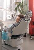De stoel van de tandarts Royalty-vrije Stock Afbeelding