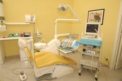 De stoel van de tandarts Royalty-vrije Stock Foto