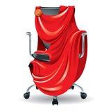 De stoel van het bureau stock illustratie