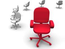 De stoel van het bureau. Royalty-vrije Stock Afbeelding
