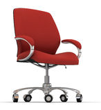 De stoel van het bureau royalty-vrije illustratie