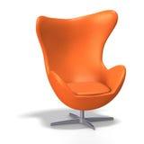 De stoel van het ei Stock Afbeeldingen