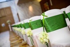 De stoel van het huwelijk Royalty-vrije Stock Fotografie