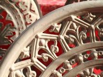 De stoel van het ijzer Stock Afbeeldingen