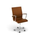 De stoel van het leer Stock Fotografie