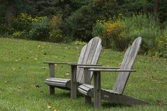 De Stoelen van Adirondack Royalty-vrije Stock Foto's